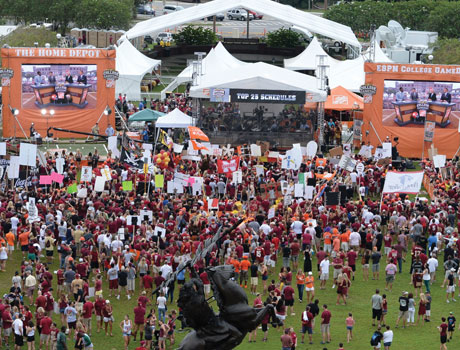 Coke Zero College GameDay