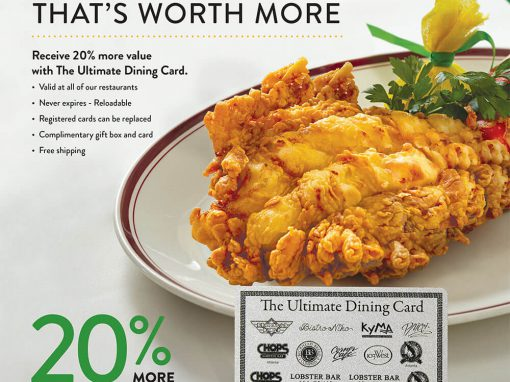 Buckhead Life Restaurant Group: Dining Card Campaign