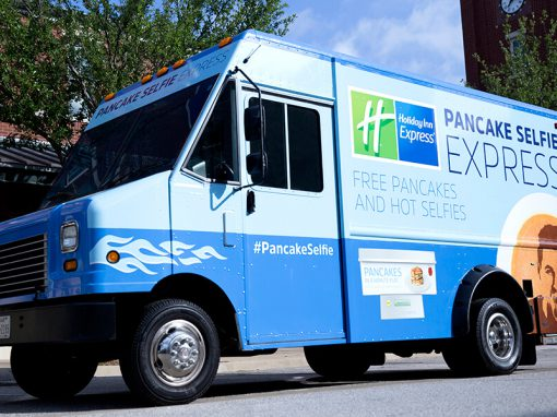 Holiday Inn Express: Pancake Selfie Experiential Tour