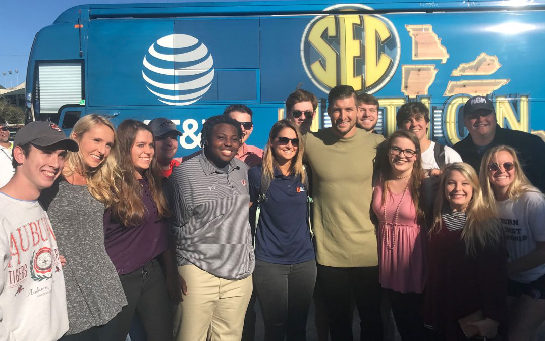 MELT helps prep Auburn University students for SEC Nation tour and UGA Bulldogs
