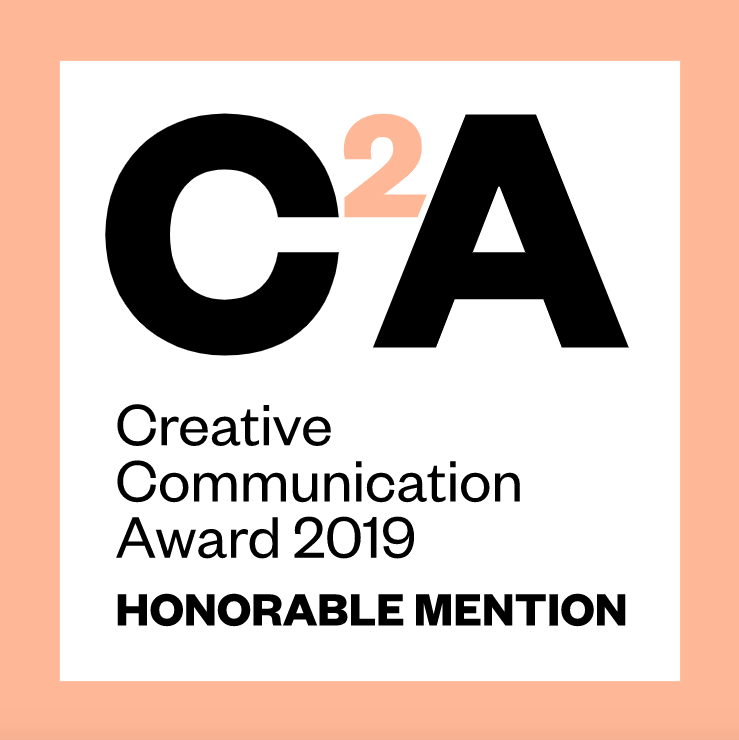 Creative Communication Award 2019 - Honorable Mention
