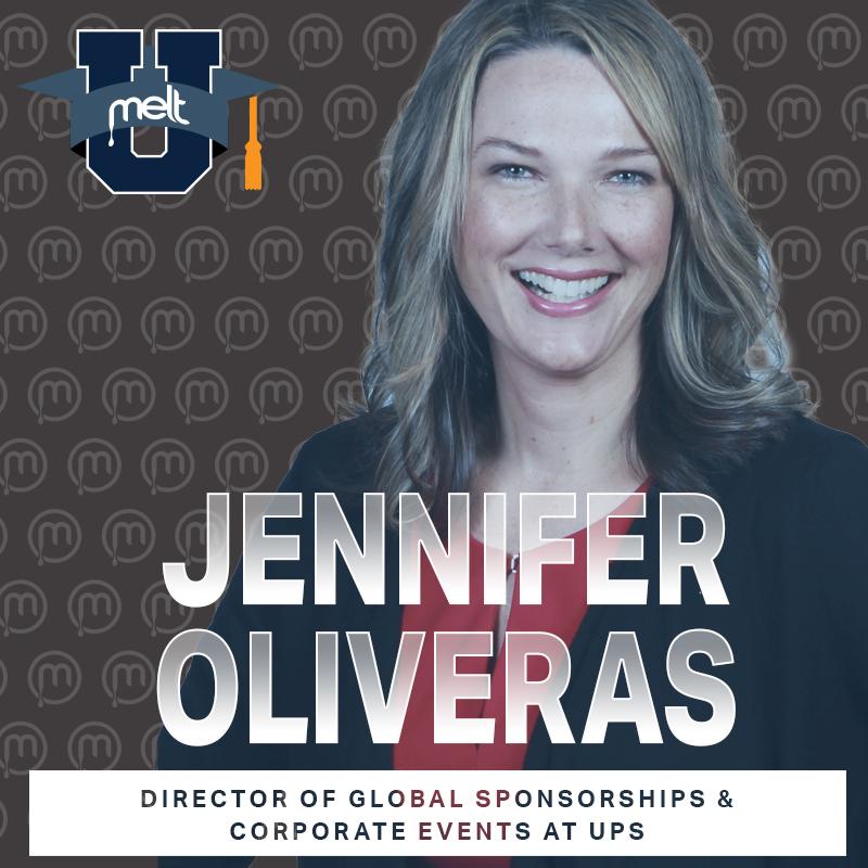 Episode 81: Jennifer Oliveras Director-Global Sponsorships & Corporate Events at UPS
