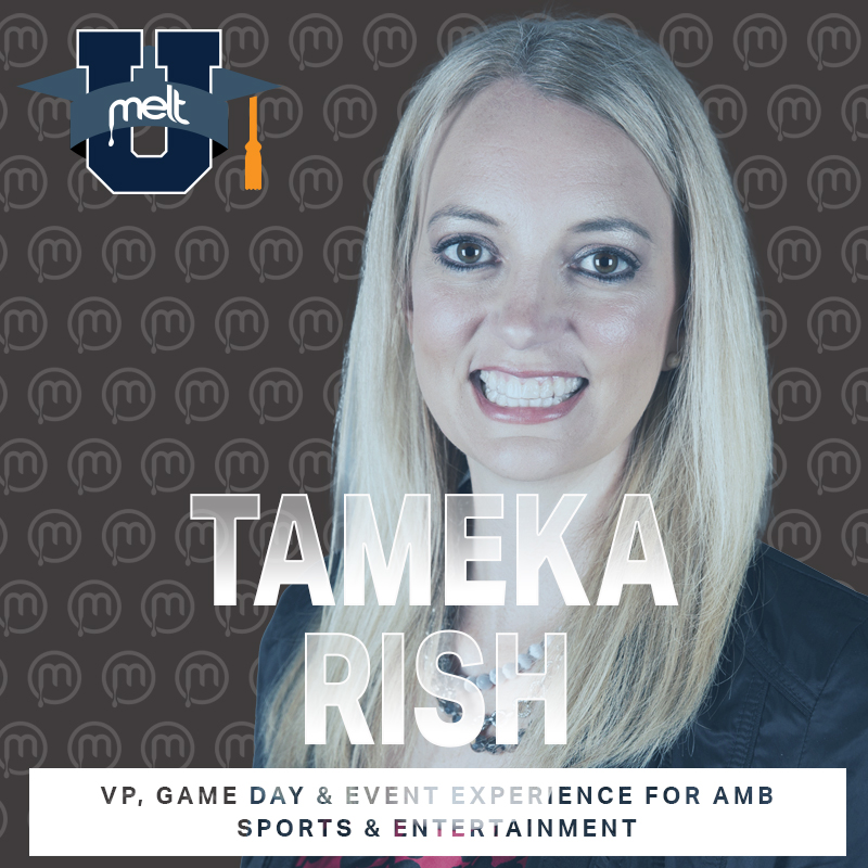 Episode 76: Tameka Rish VP, Game Day & Event Experience for AMB Sports & Entertainment