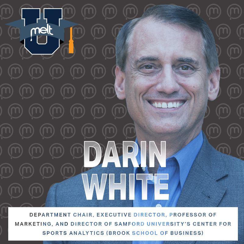 Episode 90: Darin White Department Chair, Executive Director, Professor of Marketing, and Director of Samford University's Center for Sports Analytics