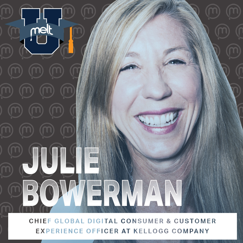Episode 95: Julie Bowerman Chief Global Digital Customer and Consumer Experience Officer at the Kellogg Company