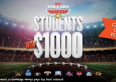 Georgia Lottery: Dollars for Degrees Program