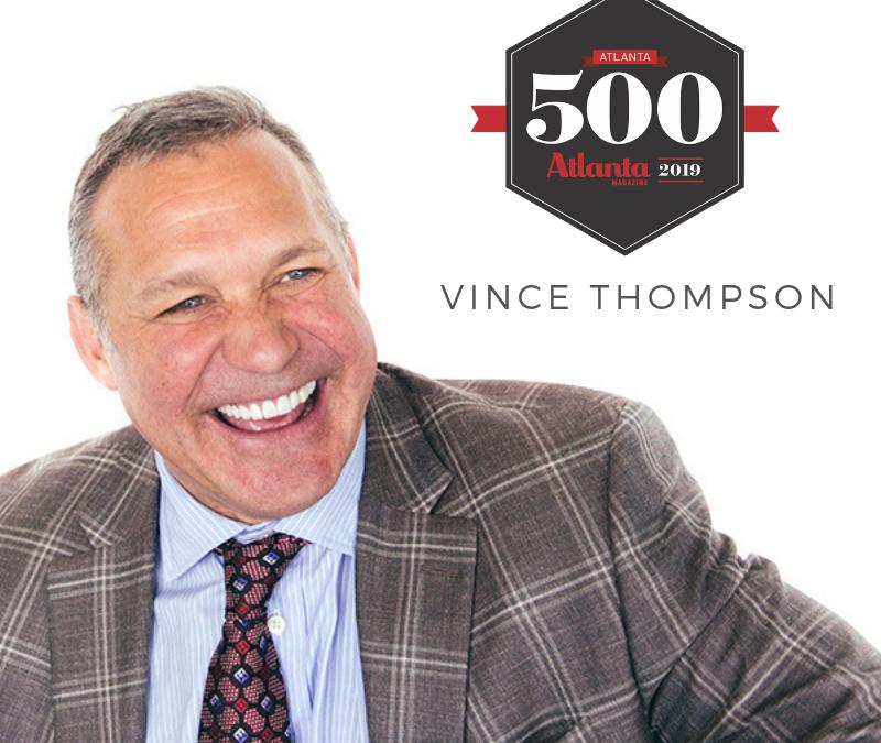 Atlanta Magazine Names Vince Thompson to Top 500